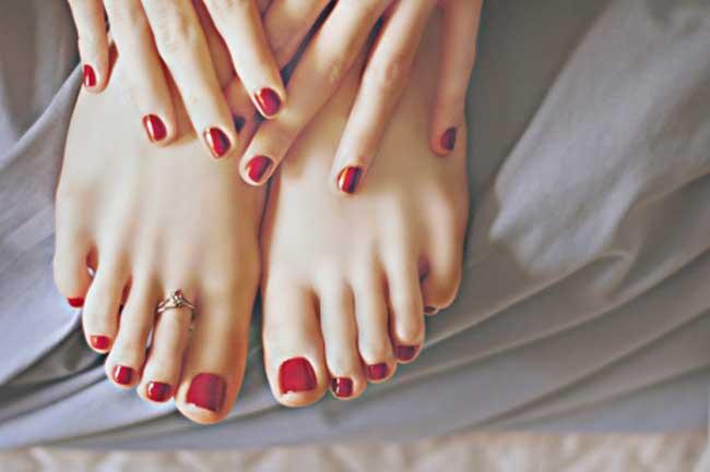 पैरों के नाखूनों में दर्द का इलाज
