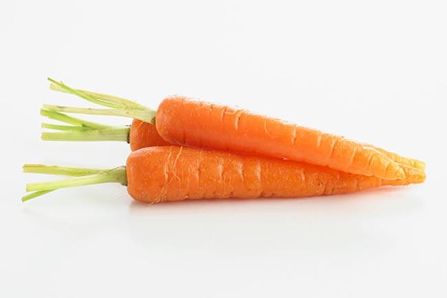 गाजर (35 कैलोरी)