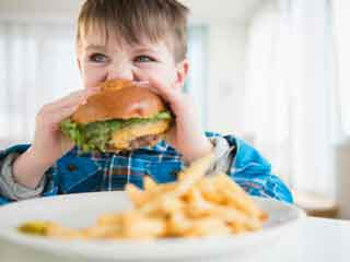 Unhealthy diets in childhood can have harmful effects on heart later