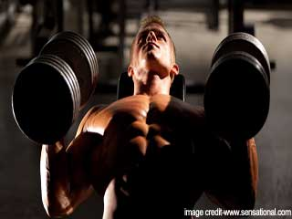 Chest Exercises- Incline Dumbbell Fly