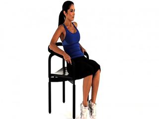 कैलोरी बर्न करने के लिए कुर्सी पर करें ये 5 कर्डियो एक्सरसाइज