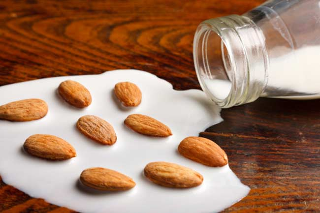 Milk + Almonds= Exfoliated Skin