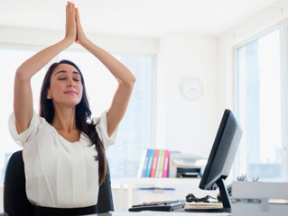 7 Yoga Poses you Can Do Using a Chair