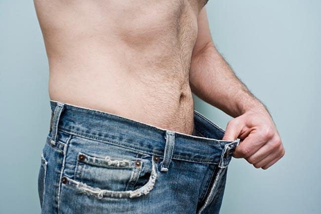 असामान्य रूप से वजन कम होना