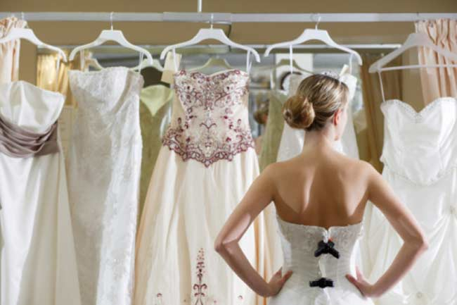 Take your time in selecting the dress