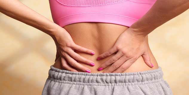 back pain after delivery in hindi