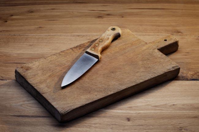 चाकू की सफाई