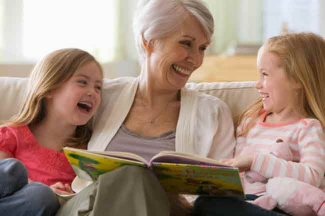बच्चों के लिए अच्छा है दादा-दादी का साथ