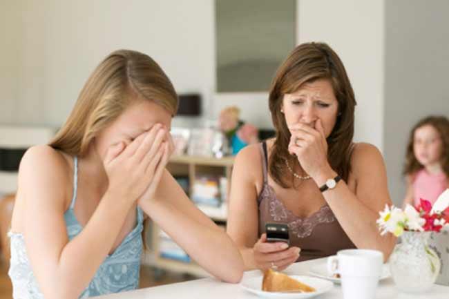 घरवाले खाना नहीं खा रहे
