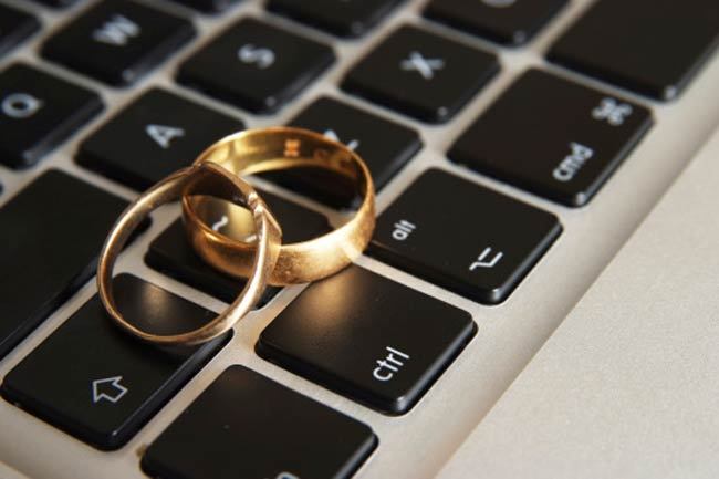 Online daters marry quicker
