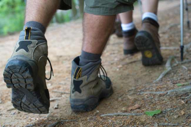 गलत जूतों का प्रयोग