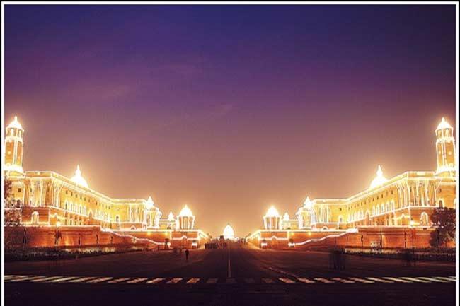 New Delhi - the party capital