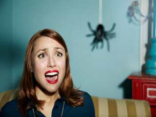 Why are women so scared of spiders? (and other creepy crawlies)