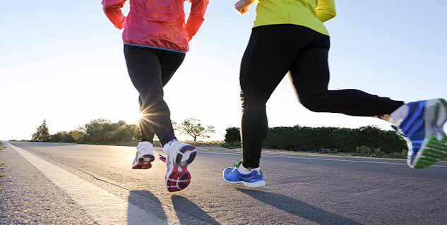 jogging in hindi