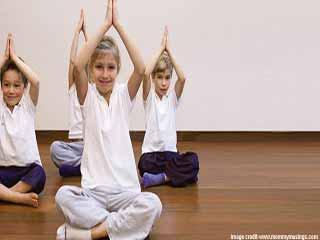 योग और प्राणायाम से बच्चों का मानसिक विकास