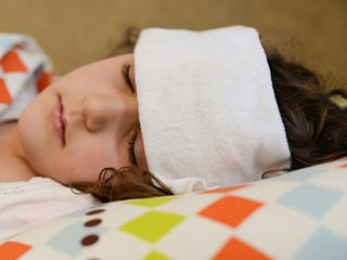 How to care for a child with viral infection