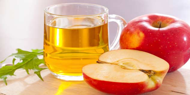 Apple cider vinegar for sunburn in Telugu
