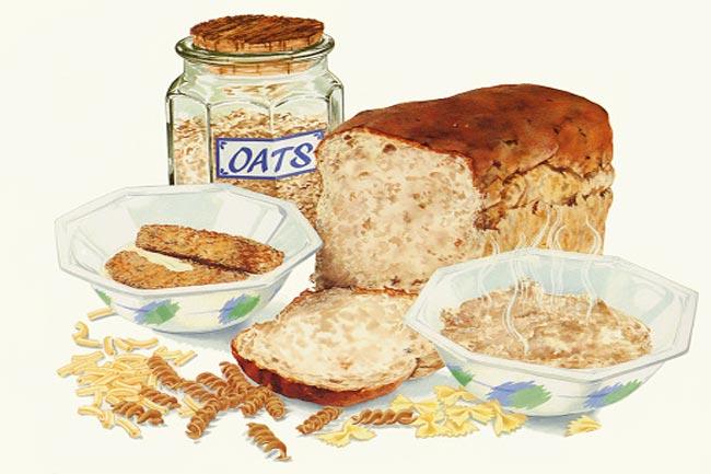 ओट्स ब्रेड