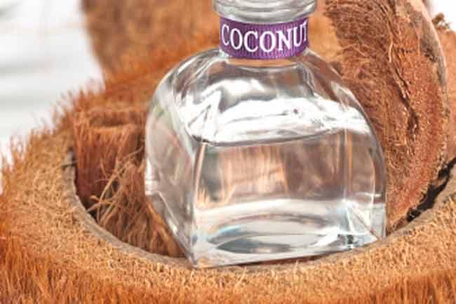 नारियल तेल के साथ नींबू का रस