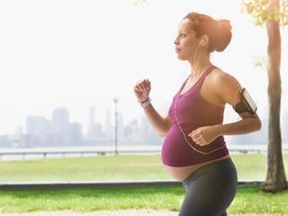 गर्भावस्था के आखिरी सप्ताह में व्यायाम में बरतें सावधानी
