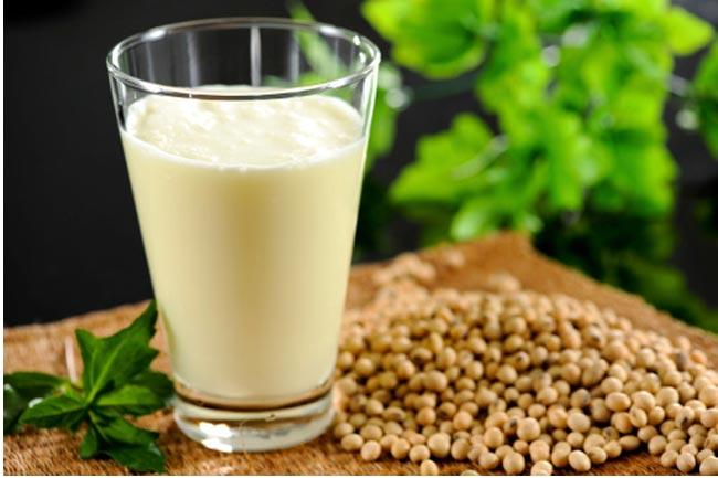 सोया दूध का इस्तेमाल