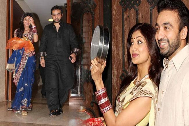 शिल्पा शेट्टी कुंद्रा के साथ राज कुंद्रा