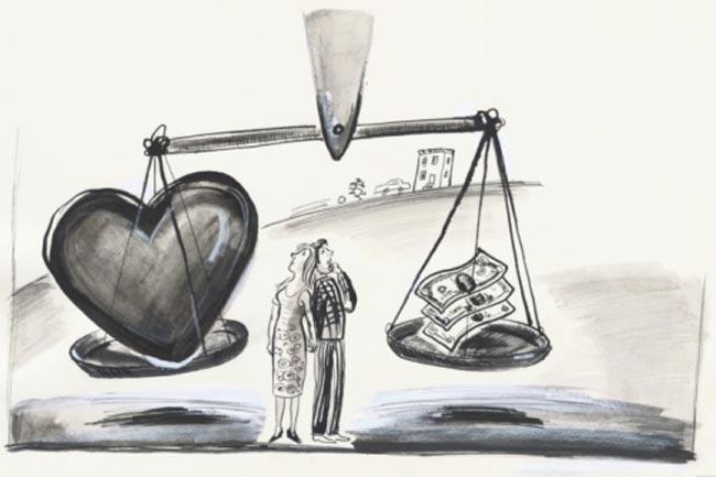 प्यार में पैसा
