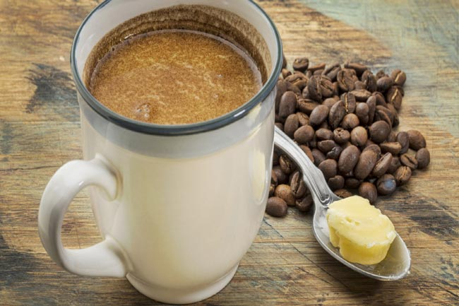 बटर मिक्सड कॉफी