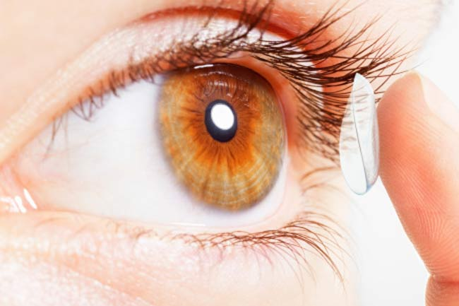 Lasik helps get rid of contact lenses (Pro)