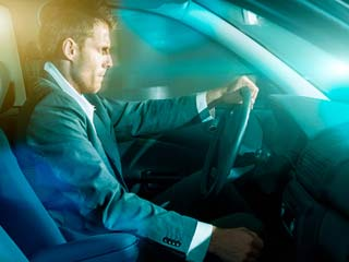Dealing with back pain while driving