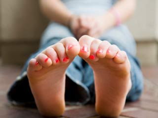 What your feet say about your personality
