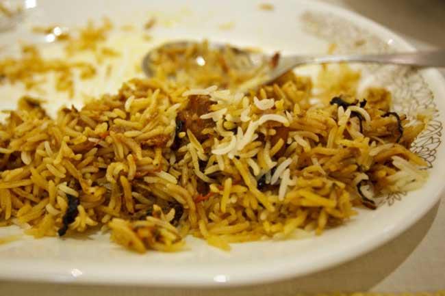 Bengali biryani