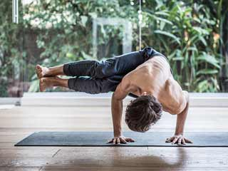 Broga: Yoga for muscle builders
