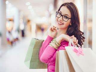 Shopping helps relieve stress