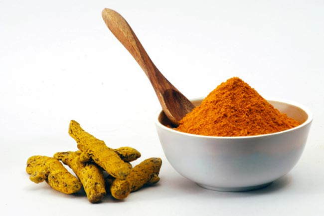 Using turmeric in diet