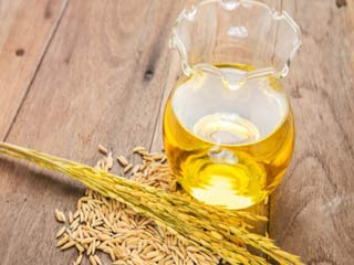 Health benefits of rice bran oil