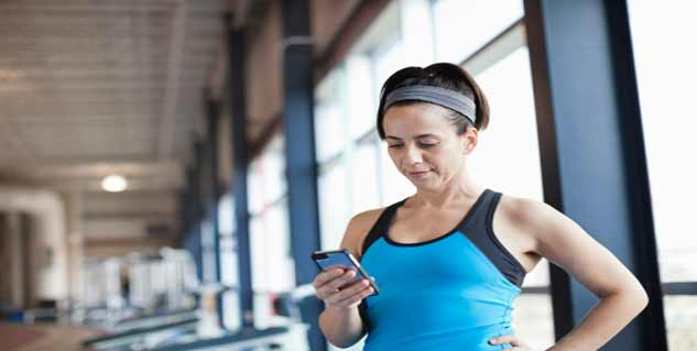 using facebook during gym in hindi