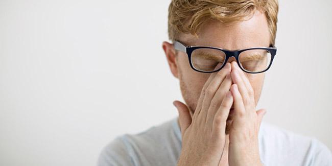Symptoms of stress in men