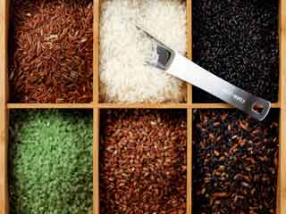 Health benefits of different types of Indian rice