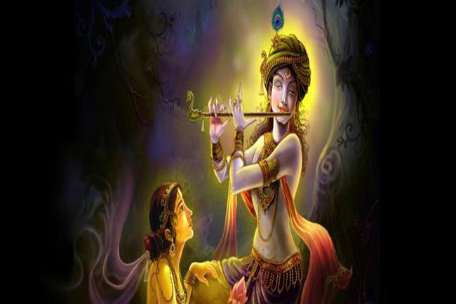 राधा और कृष्ण