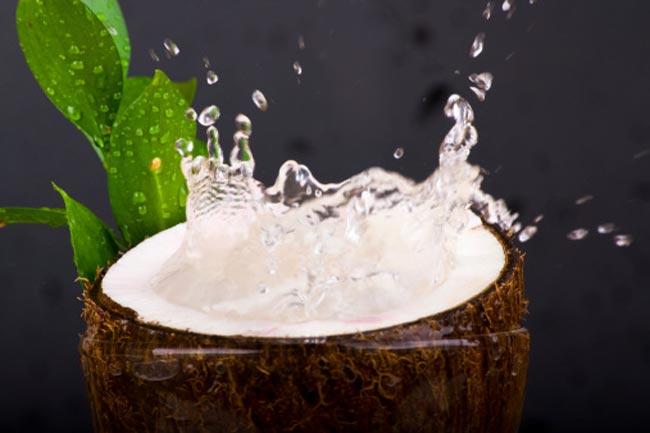 नारियल औऱ चावल का पानी