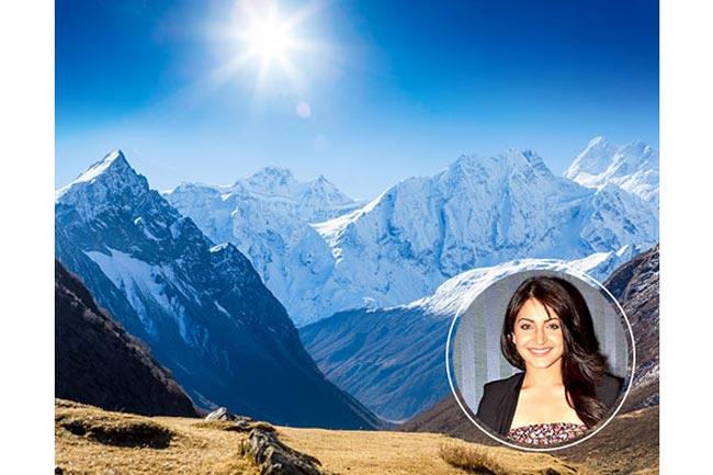 हिमालय पर जाती हैं अनुष्का शर्मा