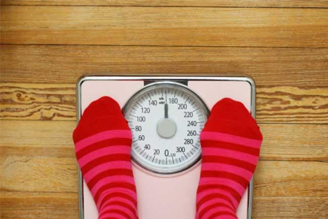 वजन बढ़ना-घटना