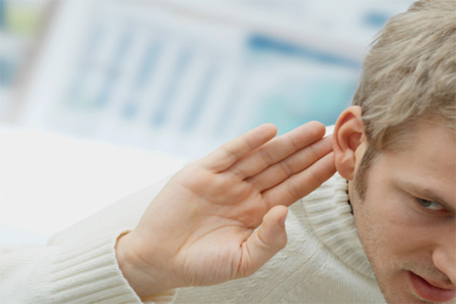 People with hearing loss have intellectual confines