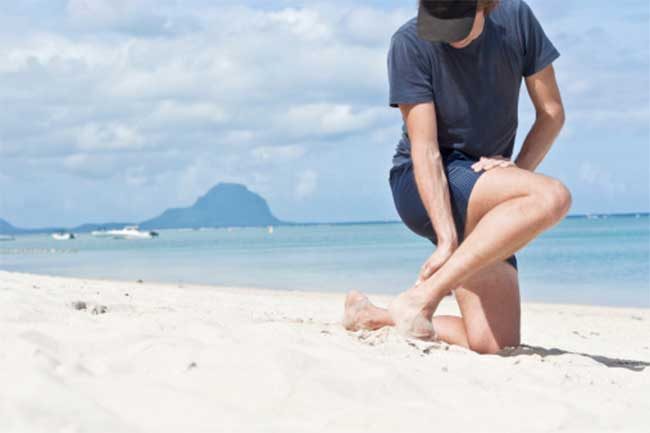 Causes of foot cramp