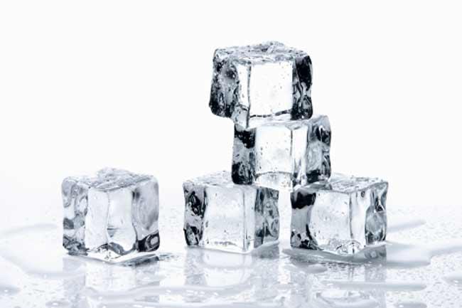 ठंडे पानी का इस्तेमाल