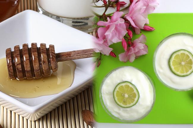 बादाम का तेल, दूध, नींबू का रस और शहद