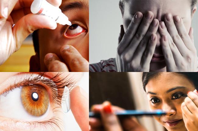 इन चीजों को आंखों में लगाने से बचें