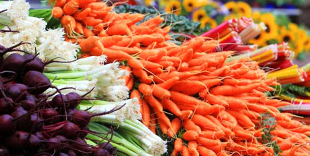 Organic food and diet plan