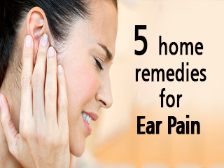 5 home remedies for ear pain